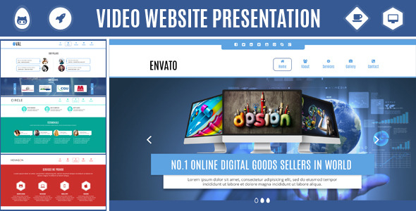 Video Website Presentation - Promote Your Company
