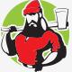 Lumberjack Logo Template - GraphicRiver Item for Sale