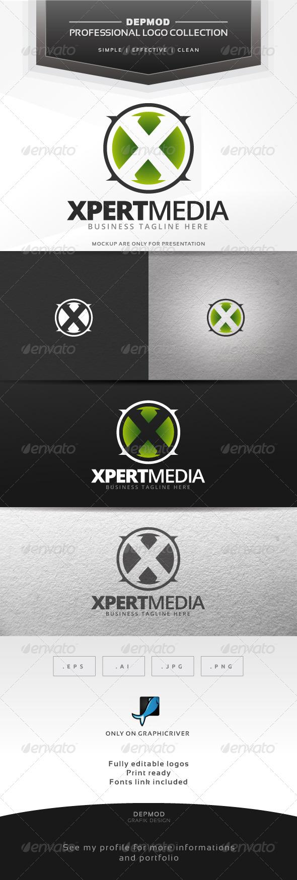 Xpert Media Logo