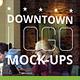 Downtown Logo Mock-Ups - GraphicRiver Item for Sale