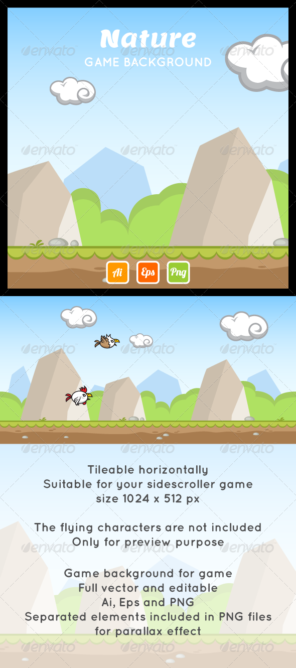 Game Backgrounds from GraphicRiver