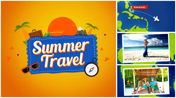 Summer Travel Map Gallery