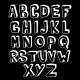 Black and White Alphabet Volume - GraphicRiver Item for Sale