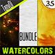 Various Watercolors | Bundle - GraphicRiver Item for Sale