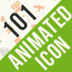 101 Animated Icons for Promotion and Business - VideoHive Item for Sale