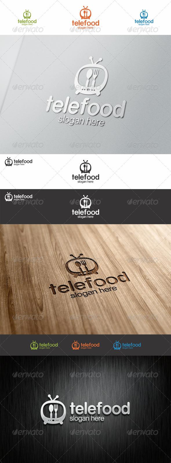 Tele Food Tv Show Logo