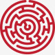 Labyrinth Logo Template - GraphicRiver Item for Sale