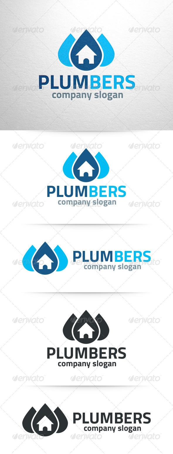 Plumbers Logo Template