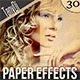 Paper Photo Effects - GraphicRiver Item for Sale