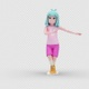 Cartoon Girl 2 with Dancing - VideoHive Item for Sale