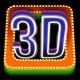 1-Click Action: Las Vegas 3D Text Generator - GraphicRiver Item for Sale