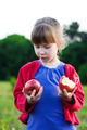 girl with apples - PhotoDune Item for Sale