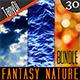 Fantasy Nature & Lights | Bundle - GraphicRiver Item for Sale