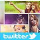 Twitter Photo Collage Header V2 - GraphicRiver Item for Sale