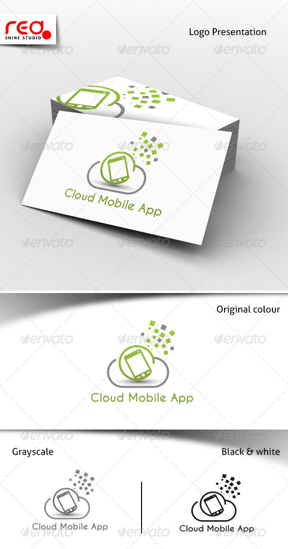 Cloud Mobile App Services Logo