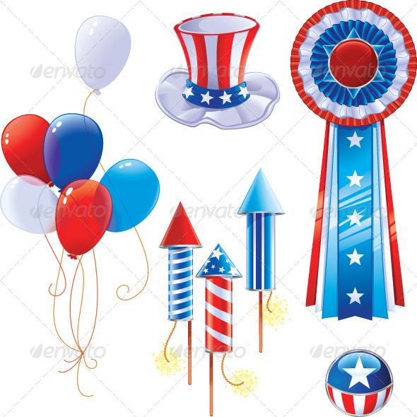 Fourth of July Symbols