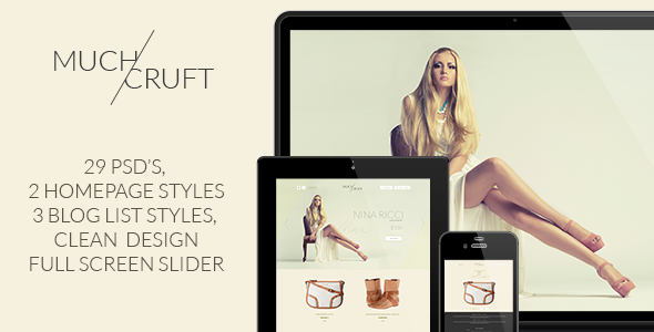 Much Cruft | Fashion Shop and Blog