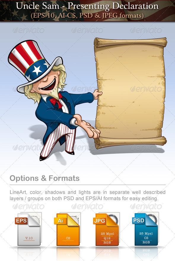 Uncle Sam - Presenting Declaration