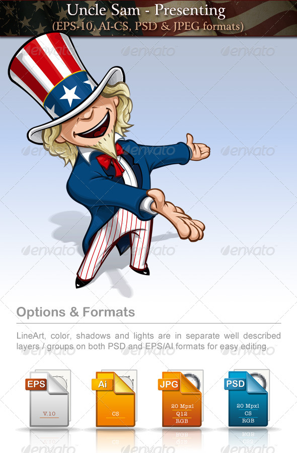 Uncle Sam - Presenting