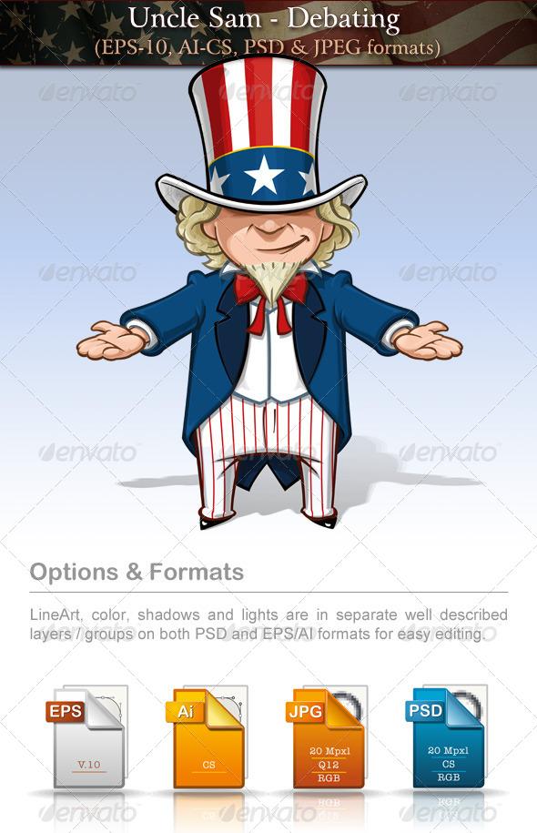 Uncle Sam - Debating