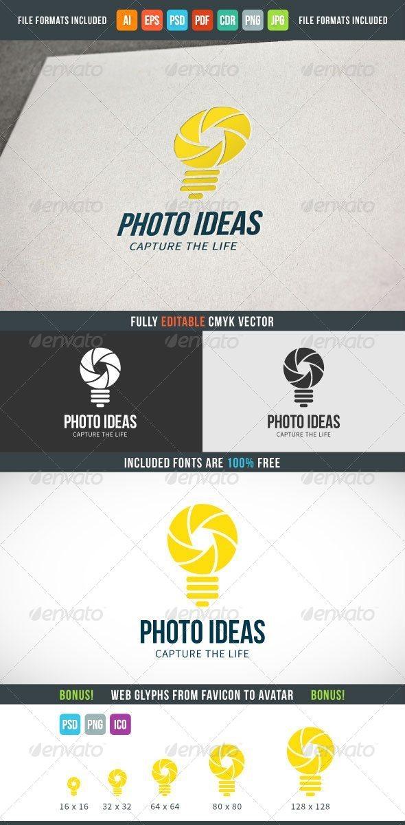 Photo Ideas Logo Template