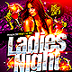 Ladies Night Flyer Template PSD - GraphicRiver Item for Sale