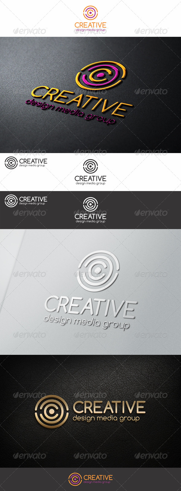Creative Circles C Letter Logo