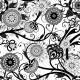 Monochrome Floral Seamless Pattern - GraphicRiver Item for Sale