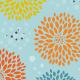 Blue Floral Pattern - GraphicRiver Item for Sale