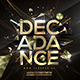 Decadance Flyer Template - GraphicRiver Item for Sale