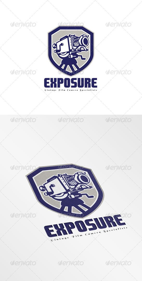 Exposure Vintage Film Camera Specialist Logo