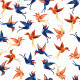 Vector Birds Seamless Pattern - GraphicRiver Item for Sale