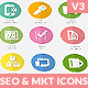 Flat SEO & Marketing Icons Pack 3 - GraphicRiver Item for Sale