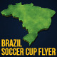 Brazil Soccer Cup Flyer - GraphicRiver Item for Sale