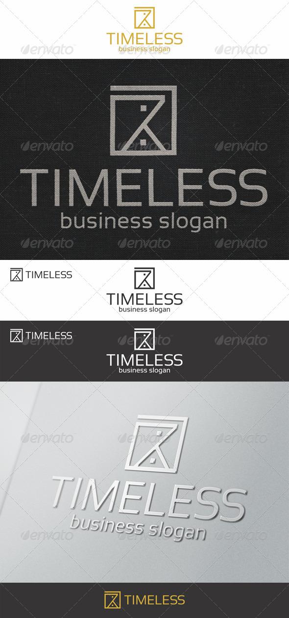 Sand Clock - Timeless Logo