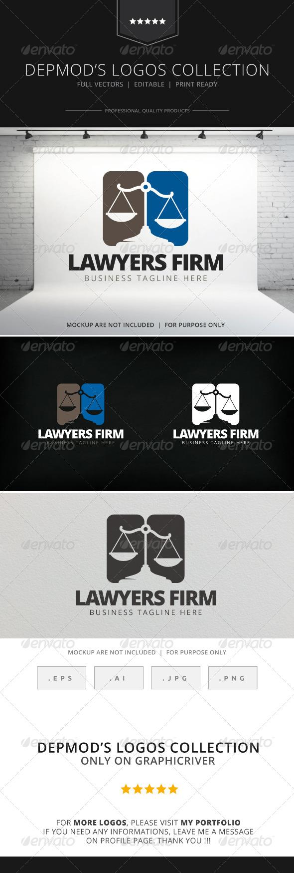 Lawyer Firm Logo