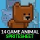 Game Animals Sprite Sheet | Volume 1 - GraphicRiver Item for Sale