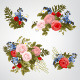 Set of Bouquets of Roses - GraphicRiver Item for Sale