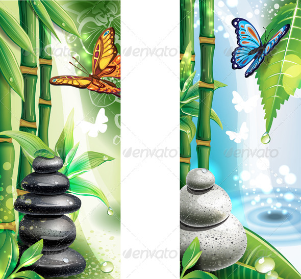 Bamboo And Spa Graphics Designs Templates From
