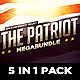 5 in 1 The Patriot Mega Bundle - GraphicRiver Item for Sale