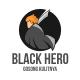 Black Hero - GraphicRiver Item for Sale
