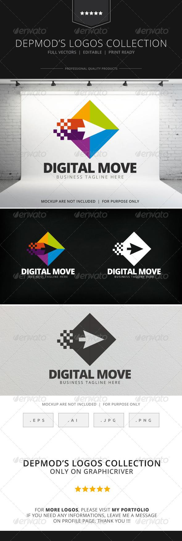Digital Move Logo