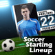 Soccer Starting Lineup - VideoHive Item for Sale