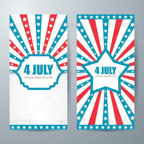 Memorial Independence Day Card