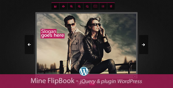 Mine Flipbook WordPress Plugin