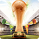 Brazil Soccer Cup Flyer 2014 Template - GraphicRiver Item for Sale