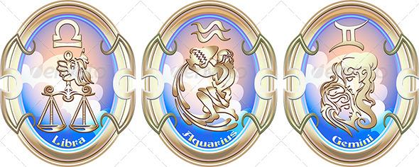 Zodiac Signs of Air