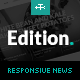 Edition - Responsive News and Magazine Theme - ThemeForest Item for Sale