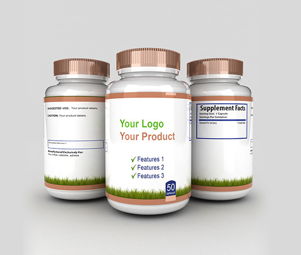 Models Medical From Pill 3docean 3d