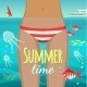 Summer Girl Under Water - GraphicRiver Item for Sale